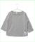灰色_brand_b_ハーフTシャツ